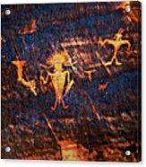 Chief Among Warriors Acrylic Print