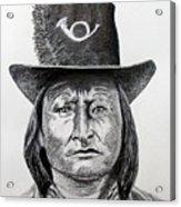 Chief Bird-Arapahoe Acrylic Print