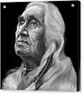 Chief Dan George Acrylic Print