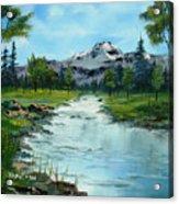 Chief Joseph Ranch Montana Acrylic Print