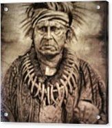 Chief Keokuk  Acrylic Print
