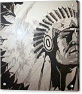 Chief Acrylic Print