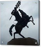 Chief Osceola Statue Acrylic Print