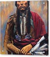 Chief Quanah Acrylic Print