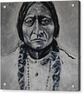 Chief Sitting Bull Acrylic Print