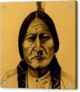 Chief Sitting Bull  Tatanka Iyotake Acrylic Print
