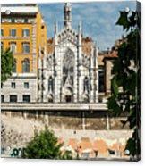 Chiesa Del Sacro Cuore Del Suffragio Acrylic Print