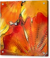 Chihuly Altered Acrylic Print