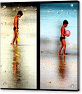 Child At Play Acrylic Print