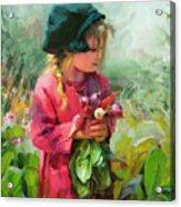 Child Of Eden Acrylic Print