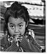 Child Portrait Acrylic Print