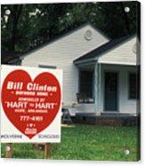 Childhood Home Of Bill Clinton Acrylic Print