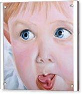 Childhood Reflections I Acrylic Print
