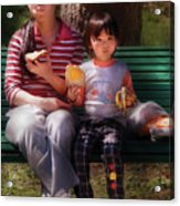 Children - Balanced Meal Acrylic Print