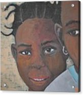 Children Burkina Faso Series Acrylic Print