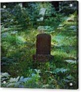 Children Of The Grave Acrylic Print