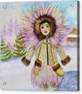 children of the North Acrylic Print