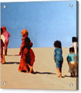 Children Of The Sinai Acrylic Print