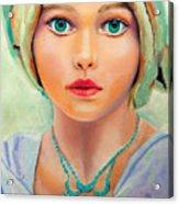 Children Of The World_russia Acrylic Print