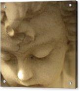 Cherub Angel Acrylic Print