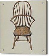Child's Arm Chair Acrylic Print