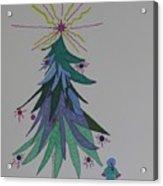 Child's Blue Spruce Acrylic Print