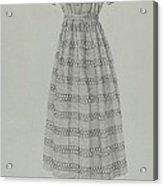 Child's Dress Acrylic Print