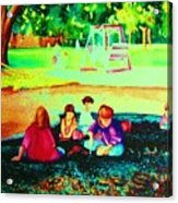 Childs Play Acrylic Print