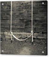 Child's Swing On An Old Farm Acrylic Print