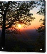Chilhowee Sunset Acrylic Print