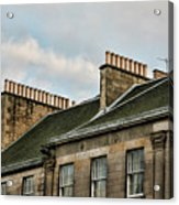 Chimney Architecture Acrylic Print