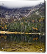 Chimney Pond During Fall - Baxter State Park Maine Acrylic Print