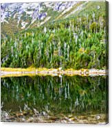 Chimney Pond Reflections 2 Acrylic Print