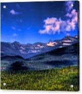 Chimney Rock At Priest Lake Acrylic Print
