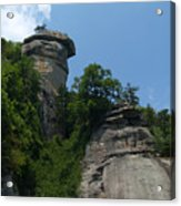 Chimney Rock State Park Nc Acrylic Print