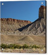 Chimney Rock Towaoc Colorado Acrylic Print