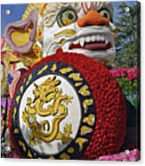 China Airlines Parade Float Acrylic Print