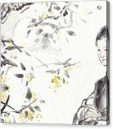 China Ancient Female Acrylic Print