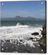 China Beach  Acrylic Print