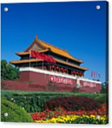 China, Beijing Acrylic Print