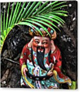 China Boat Gnome Acrylic Print