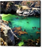 China Cove 4 Acrylic Print by Alan Hausenflock
