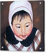 China Doll Acrylic Print