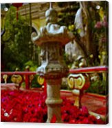 China Garden Acrylic Print