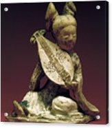 China: Musician Acrylic Print