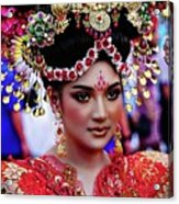 China Pageant Fashion Festival Acrylic Print