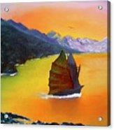 China Sea Acrylic Print
