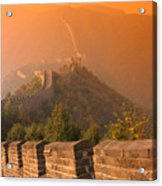 China, The Great Wall Acrylic Print