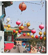 China Town  Acrylic Print