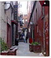 Chinatown Alley Acrylic Print
